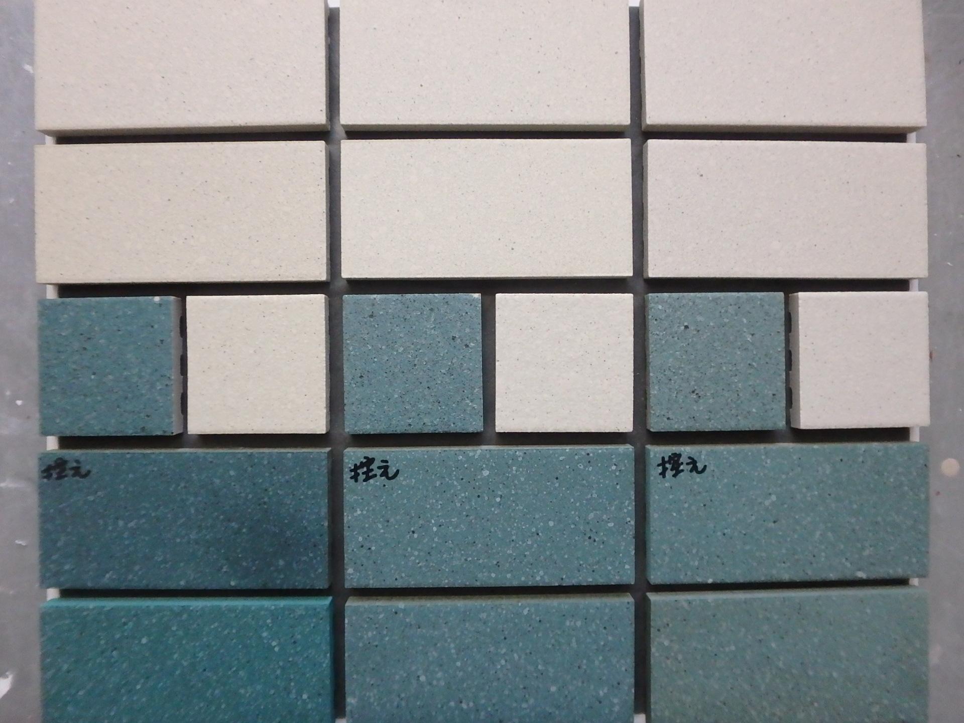 リコートでのタイルの色合わせ 補修 改修タイル情報局 補修用 改修用タイルは リボーンタイル へ